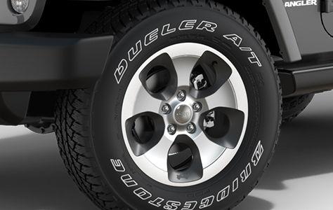 Легкосплавные полированные колесные диски на 18 дюймов