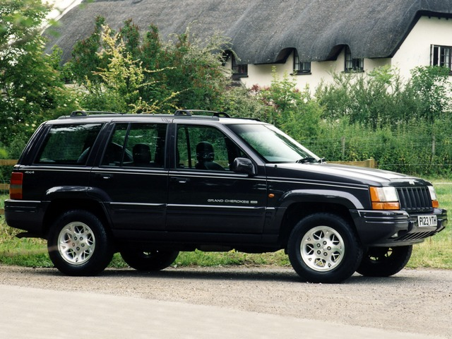 Jeep Grand Cherokee Limited (ZJ) '1996–98
