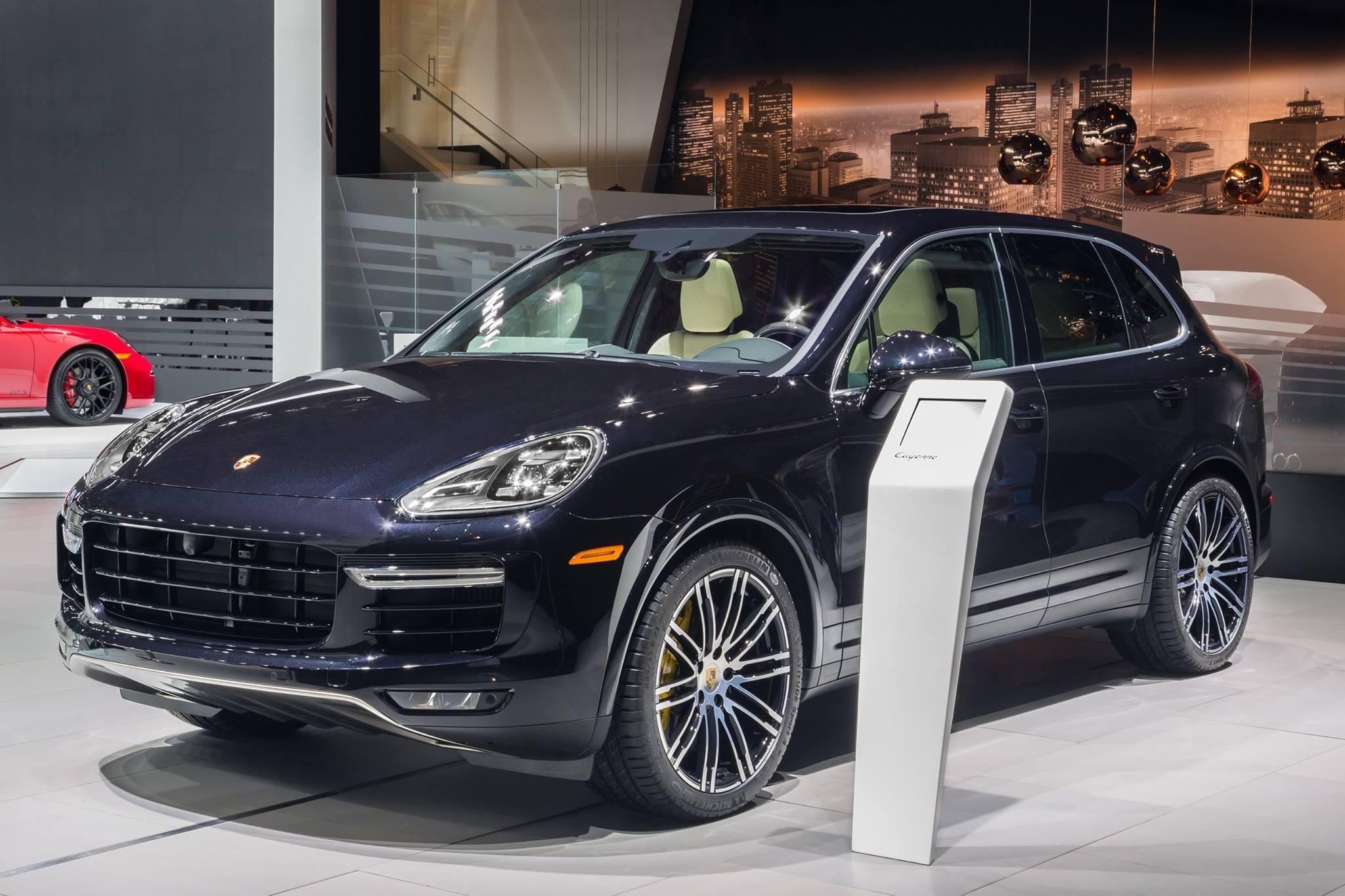 Porsche Cayenne Turbo Sportivity