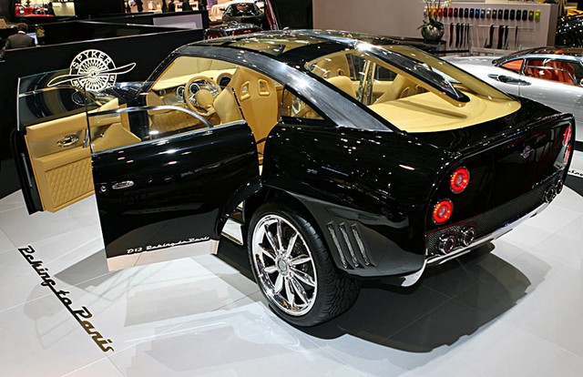 Spyker D12 «Peking-to-Paris»