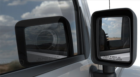 Wrangler Power-Heated-Mirrors