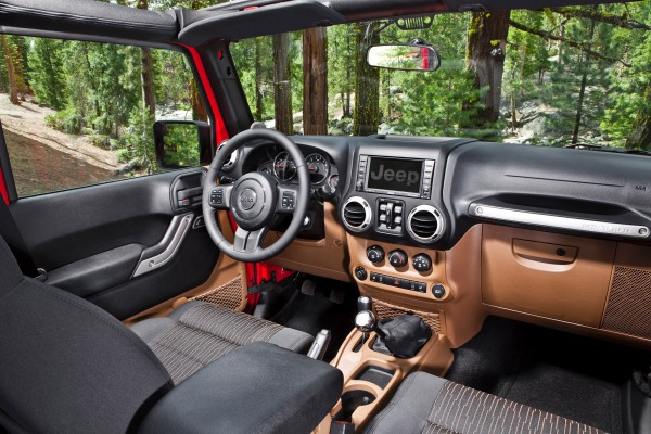 Jeep Wrangler Sport S Unlimited 2016 interior