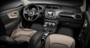 Jeep Renegade 75th Anniversary 2016 interior