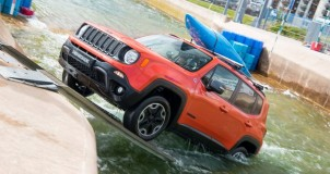 Jeep Renegade принял участие в «рафтинге» 5