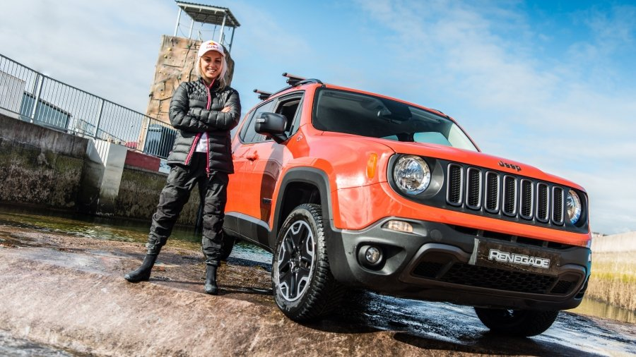 Jeep Renegade принял участие в «рафтинге» 6