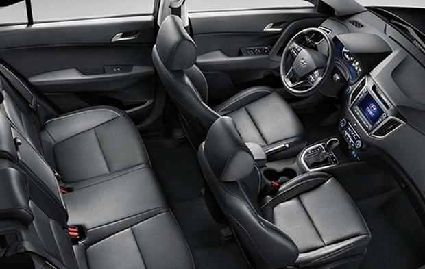 Hyundai creta салон