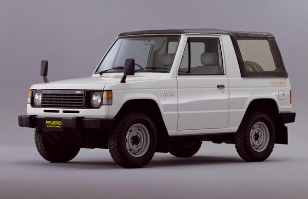 Трехдверный внедорожник Mitsubishi Pajero первого поколения, 1982–1991