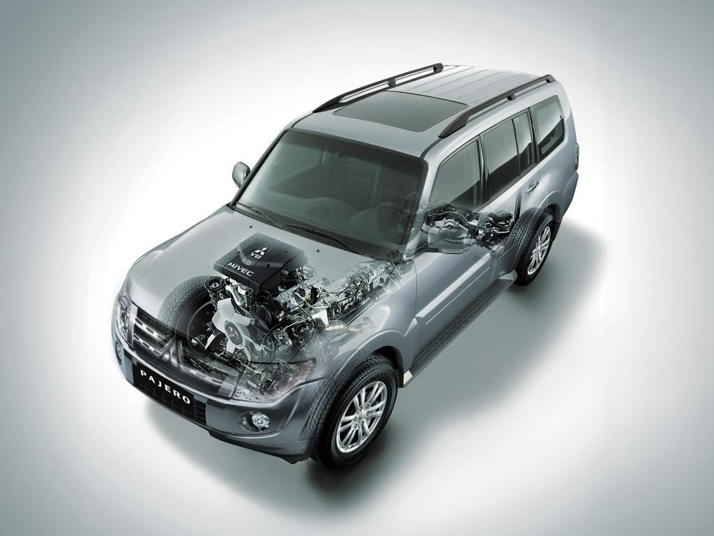 Привод автомобиля – полный Super Select 4WD-II
