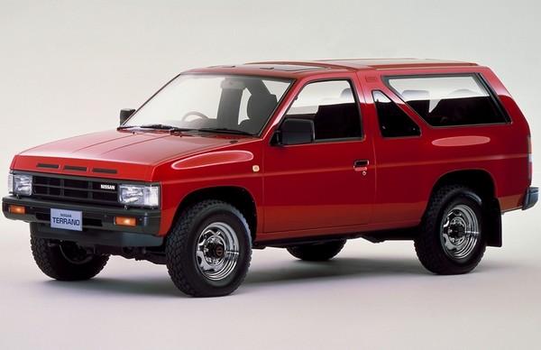 Трехдверный внедорожник Nissan Terrano первого поколения, 1986–1995