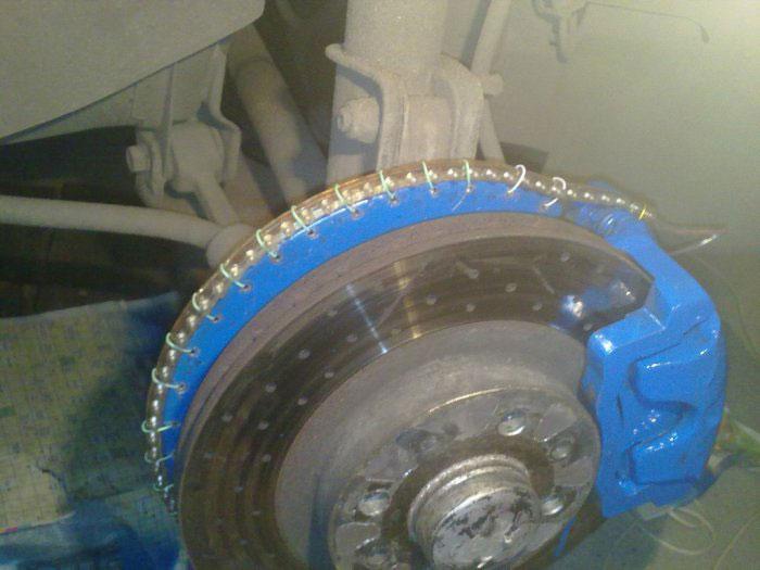 Как сделать подсветку колёсных дисков