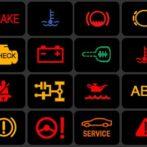 Обозначение символов и лампочек на приборной панели автомобиля