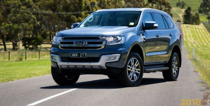 Фото: Ford Everest 2018
