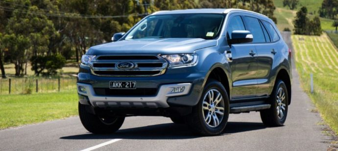 Фото: Ford Everest 2019