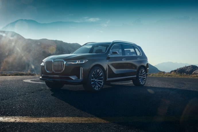 Фото: новый BMW X7 iPerformance 2018