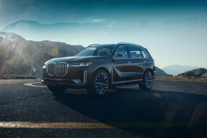 Фото: новый BMW X7 iPerformance 2018