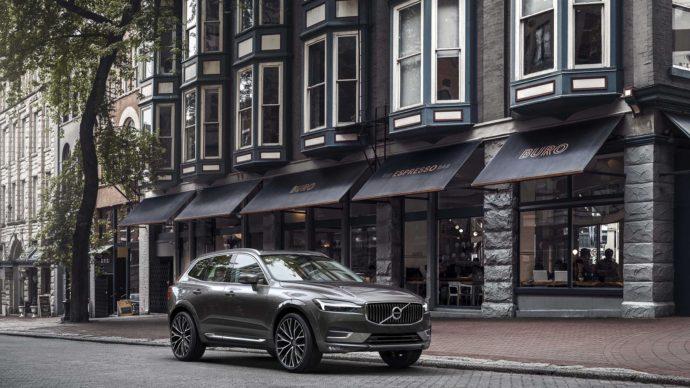 Фото: обновлённый Volvo XC60 2018