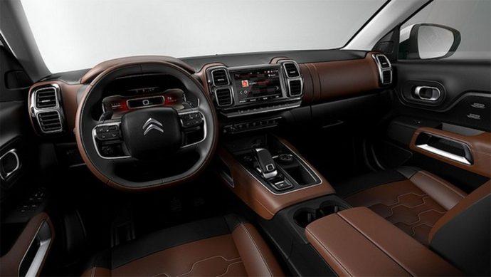 Новый Citroen C5 Aircross