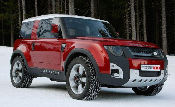 Новый Land Rover Defender (Ленд Ровер Дефендер) 2018 года: внешний вид, оформление салона, размеры, технические характеристики и цены