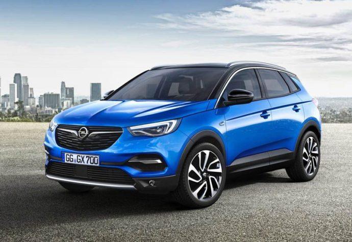 Фото: новый Opel Grandland X 2018