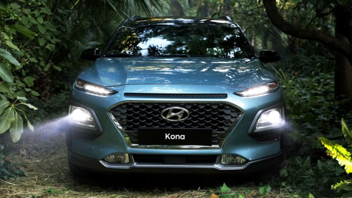 Фото: новый Hyundai Kona 2017-2018