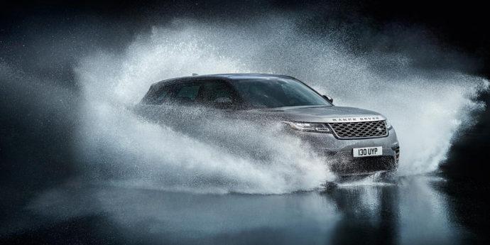 Фото: новый Range Rover Velar 2018