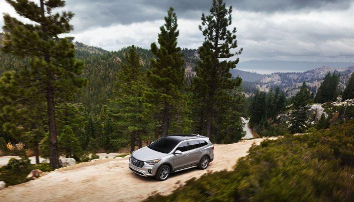 Фото: новый Hyundai Santa Fe 2019
