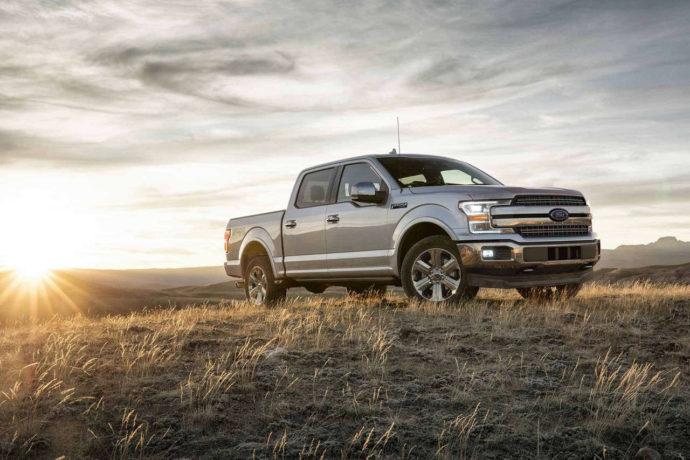 Фото: новый Ford F-150 2018