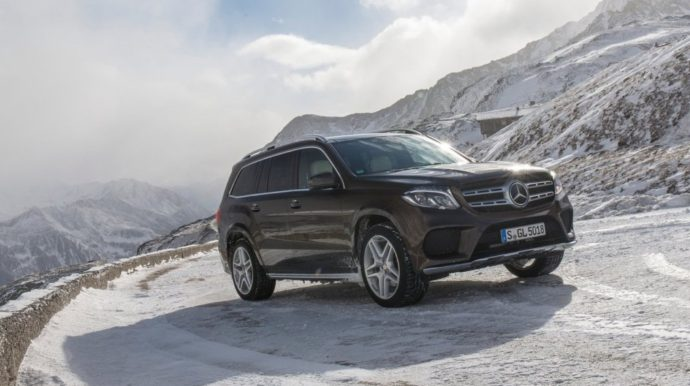 Фото: новый Mercedes GLS 2018