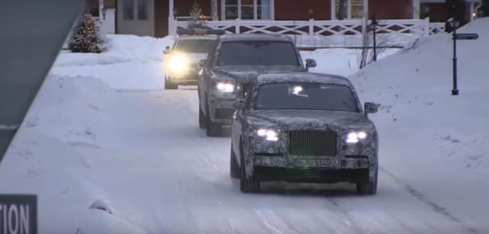 Фото: новенький Rolls-Royce 2018