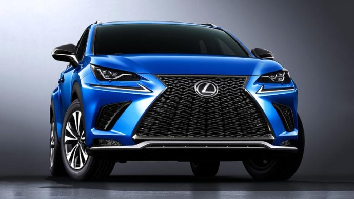 Фото: обновлённый Lexus NX 2018
