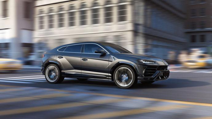 Фото: новый Lamborghini Urus 2018