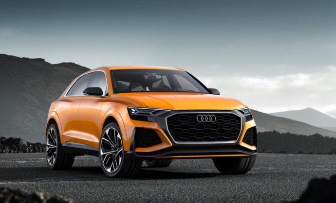 Фото: новый Audi Q8 2019