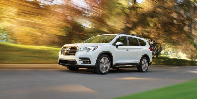Фото: новый Subaru Ascent 2019