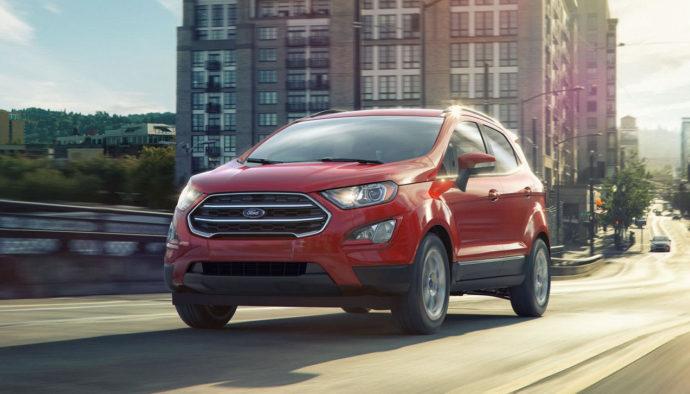Фото: новый Ford EcoSport 2018