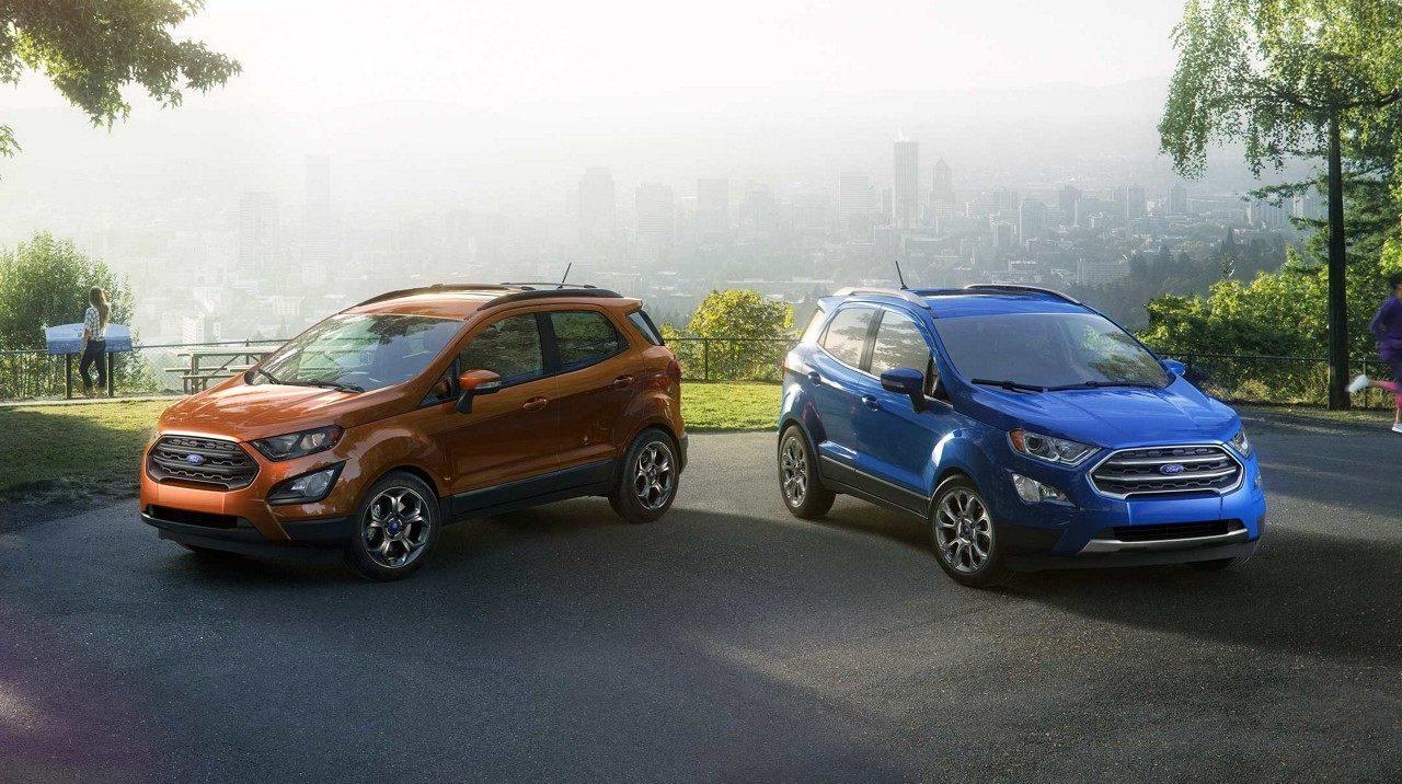 Форд Эко Спорт в новом кузове фото, характеристики и цена Ford